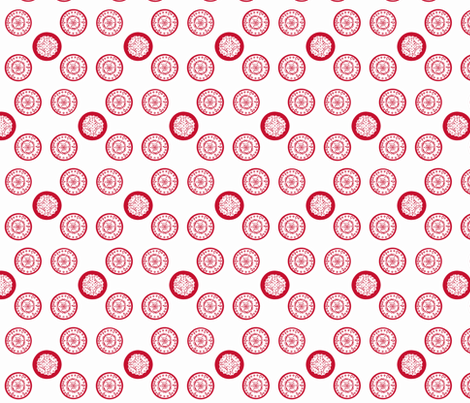 Chinese Paper Cutting fabric by gbehel on Spoonflower - custom fabric