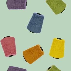 Yarn Cones - mint (large)