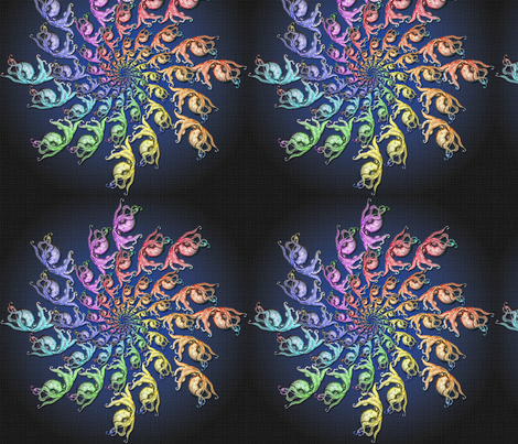 Fractalpus_4 fabric by paintedfabrix on Spoonflower - custom fabric
