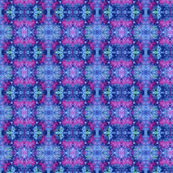 Blue Purple Kaleidoscope