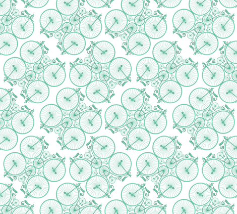 Penny_Farthing. fabric by house_of_heasman on Spoonflower - custom fabric