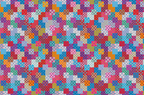 Quilt-color fabric by cassiopee on Spoonflower - custom fabric