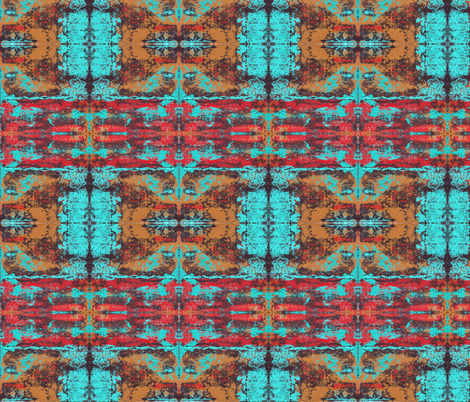 Funky Kaleidoscope fabric by peaceofpi on Spoonflower - custom fabric