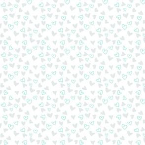 Ditsy Valentine's Heart