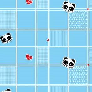 Polka Panda Love