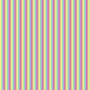 tiny rainbow stripes 12th scale
