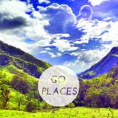 Go Places motivational swatch