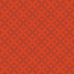 Plumeria Tapa Cloth Two Tone 5