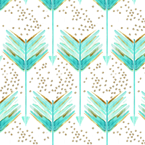.a shot in water. just blue fabric by emilysanford on Spoonflower - custom fabric
