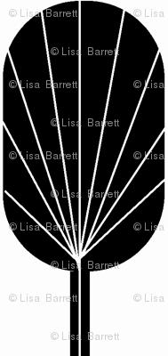 Fanpod in black and white