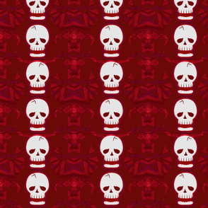 Skulltastic in Red2