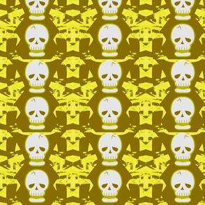 Skulltastic in Yellow