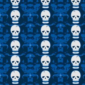 Skulltastic in Blue