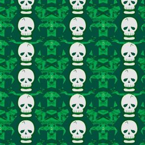 Skulltastic in Green