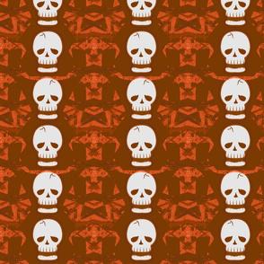 Skulltastic in Orange