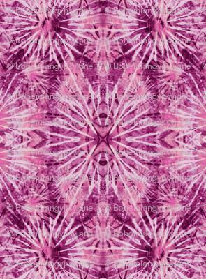 Radiant Orchid Tie Dye