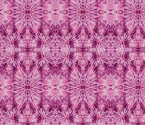 Radiant Orchid Tie Dye fabric by bohemiangypsyjane on Spoonflower - custom fabric