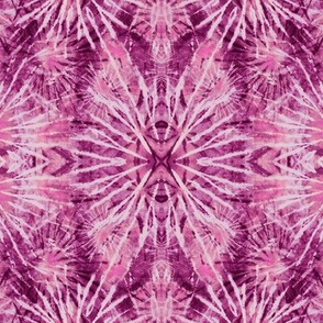 Radiant Orchid Tie Dye