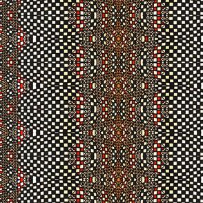 Checkerboard Stripes