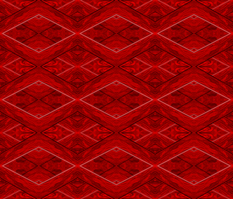 Beveled Red fabric by anniedeb on Spoonflower - custom fabric