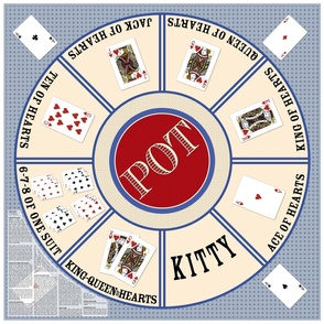 Rummy Royal Game Mat