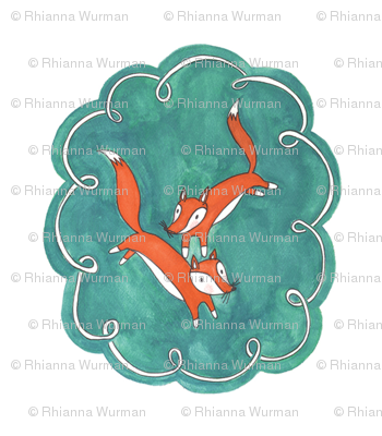 Fleeting Foxes Small