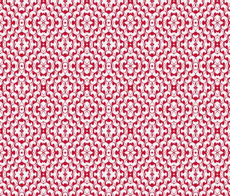 Chinese Latticework- small fabric by clotilda_warhammer on Spoonflower - custom fabric