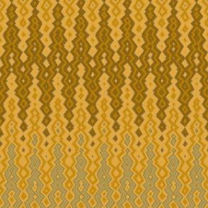 diamond chevron gold