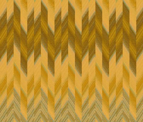 broken chevron gold fabric by weavingmajor on Spoonflower - custom fabric