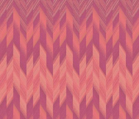 broken chevron pink fabric by weavingmajor on Spoonflower - custom fabric