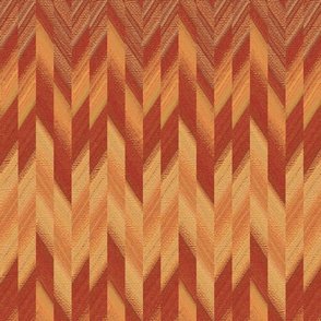 broken chevron copper