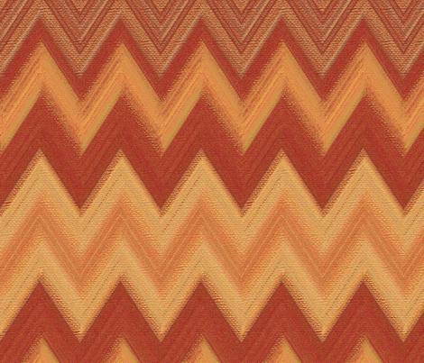 chalk chevron copper fabric by weavingmajor on Spoonflower - custom fabric
