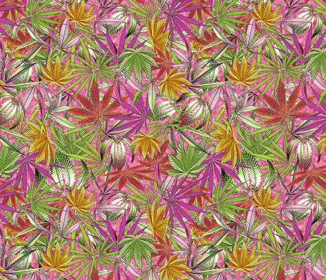 Camomoto Pink fabric by camomoto on Spoonflower - custom fabric