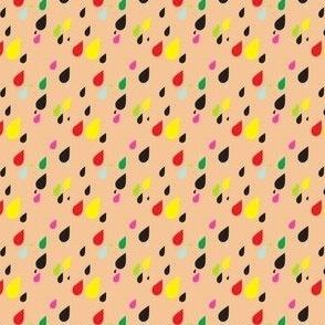 Confetti Raindrops