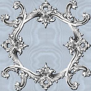 Rococo Swag ~ Versailles Fog ~ Moire