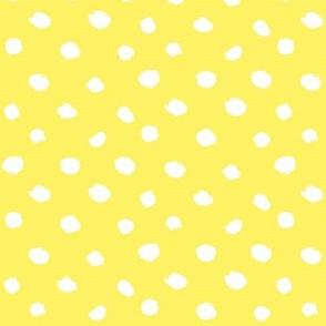 painted_polka_dots bikini yellow