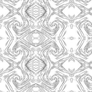 Black & White Swirls