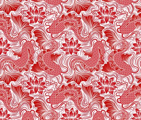 1 Fish, 2 Fish... fabric by vo_aka_virginiao on Spoonflower - custom fabric