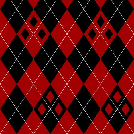 Harlequin Argyle fabric by azimuth on Spoonflower - custom fabric