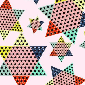 Chinese Checkers on pink