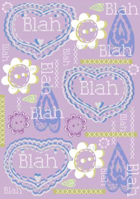 Valentines is...all Blah! Blah! Blah!