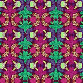 Pattern 49 - Small turtles. Odette Lager Design-ed