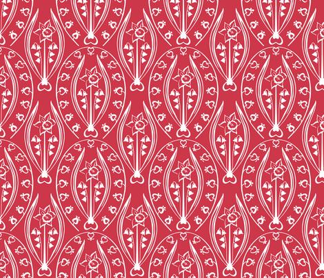 Love and Prosperity fabric by jillbyers on Spoonflower - custom fabric
