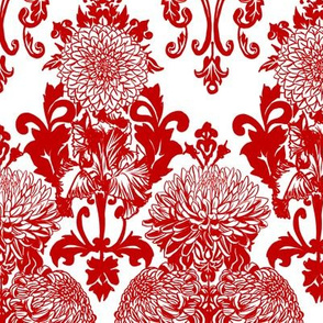 chrysanthemum damask