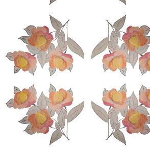 Acorn Flower Design