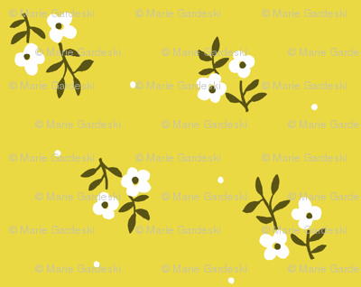 Tiny Blossoms | Chartreuse
