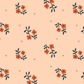 Tiny Blossoms | Peach
