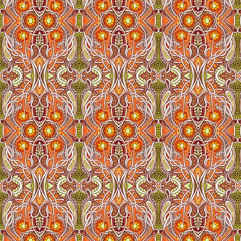 Thanksgiving Garden fabric by edsel2084 on Spoonflower - custom fabric