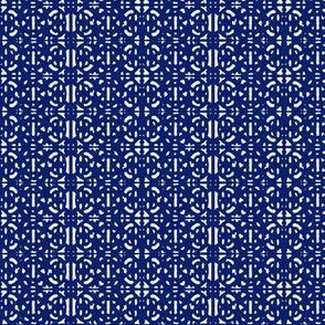 Iron Fence (blue)