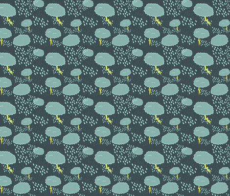 storm fabric by kostolom3000 on Spoonflower - custom fabric